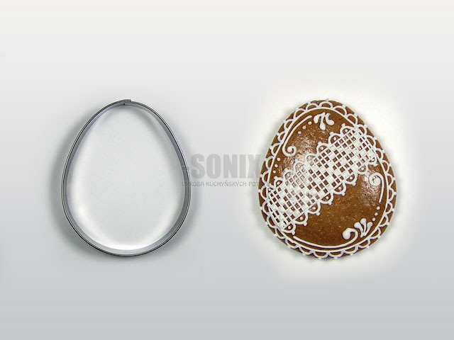 Egg No.2 (7cm) cookie cutter