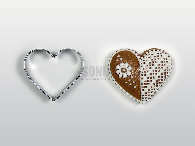 Little heart cookie cutter