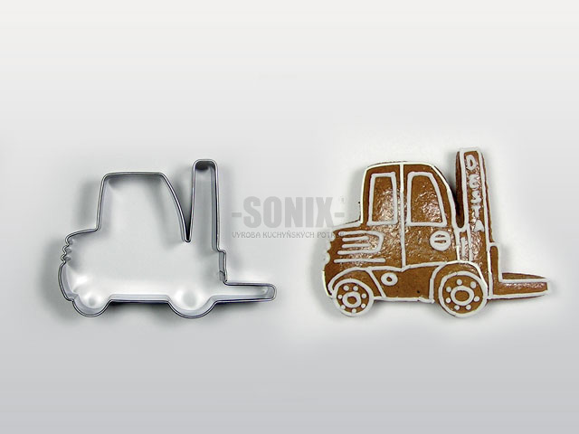 Forklift cookie cutter