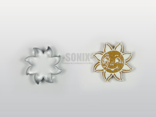 Sun No.2 (5,5cm) cookie cutter