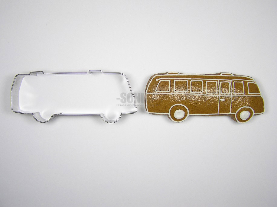 Bus cookie cutter