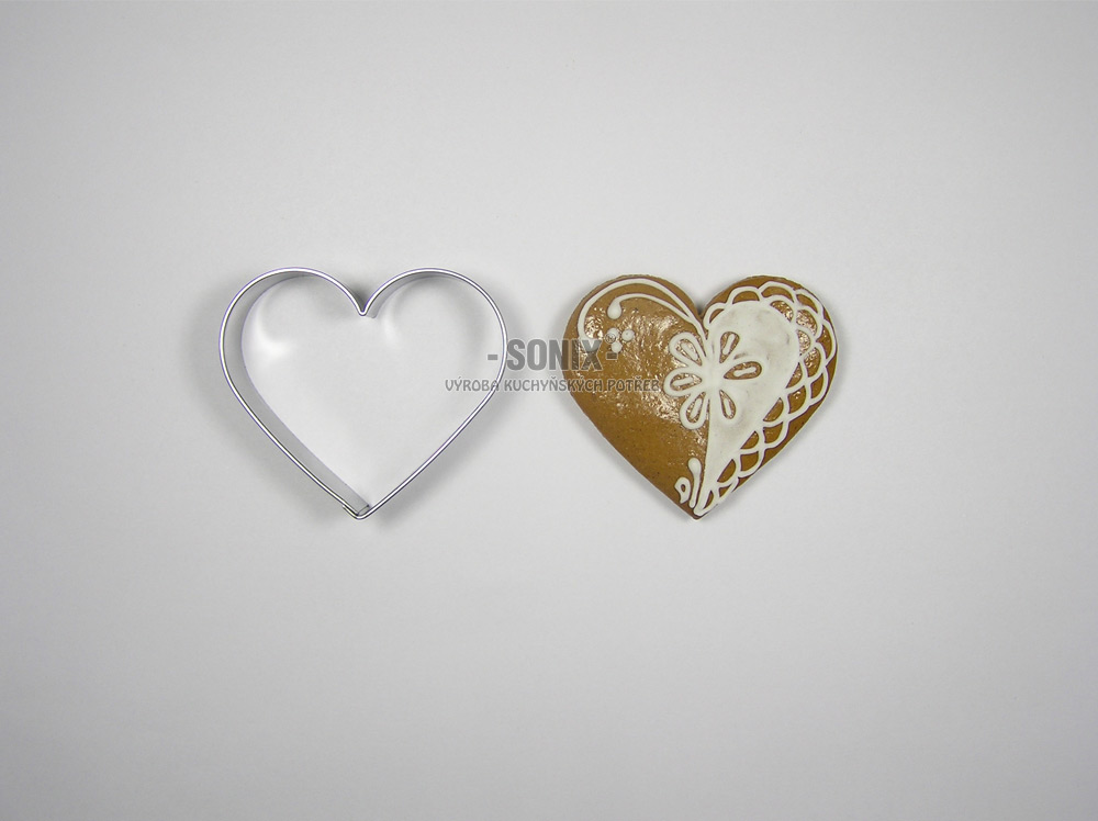 Heart 5,5 cm cookie cutter