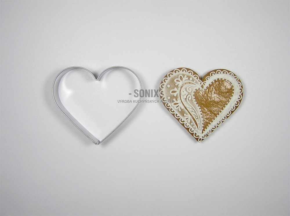 Heart 6,5 cm cookie cutter