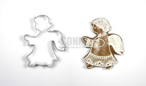 Angel III cookie cutter