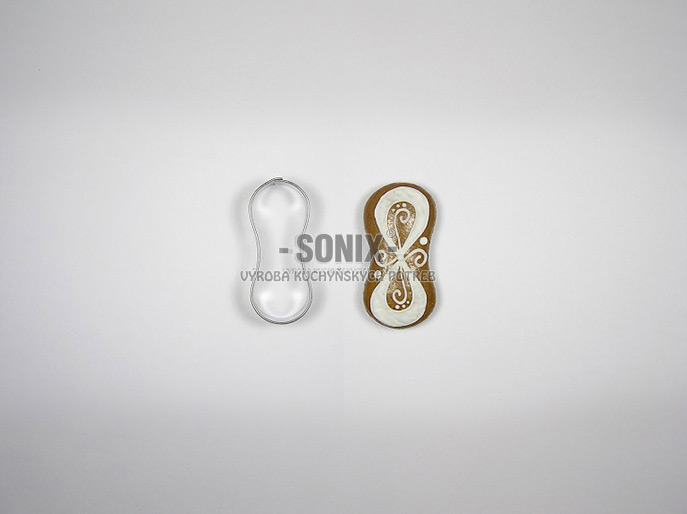 Sponge-biscuit No. 2 (5,3 cm) cookie cutter