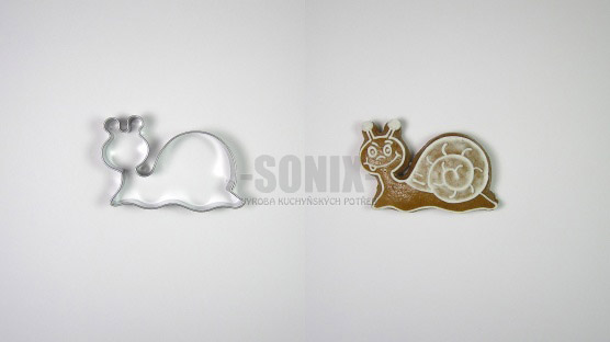 Snail cookie cutter