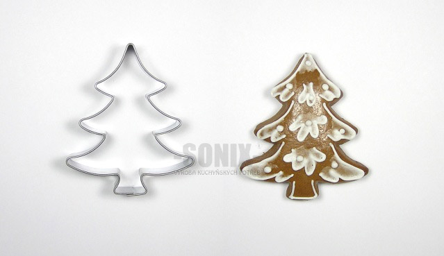 Tree II cookie cutter