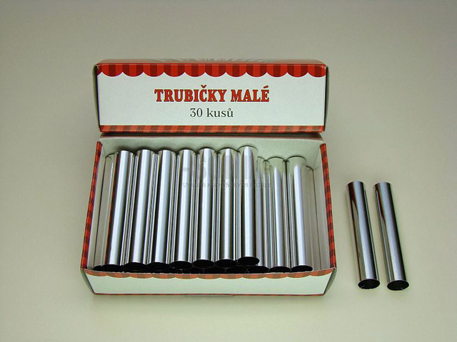 Small straight tube Ø 1.2 cm / 30 pieces