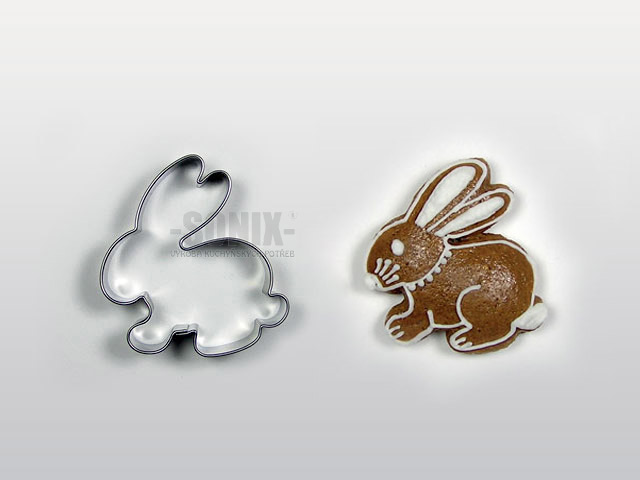 Hare cookie cutter