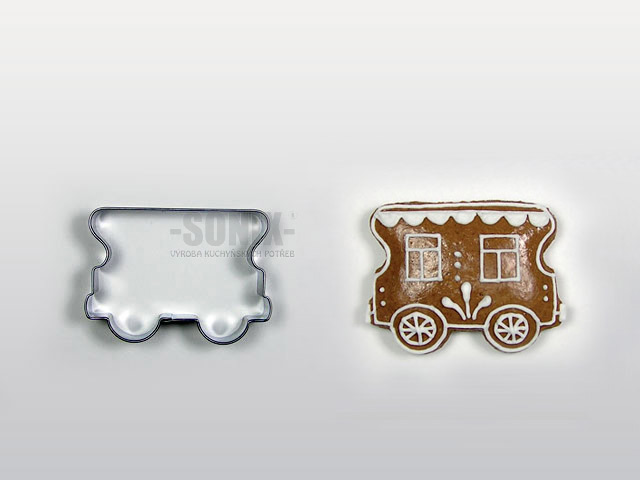 Wagon cookie cutter