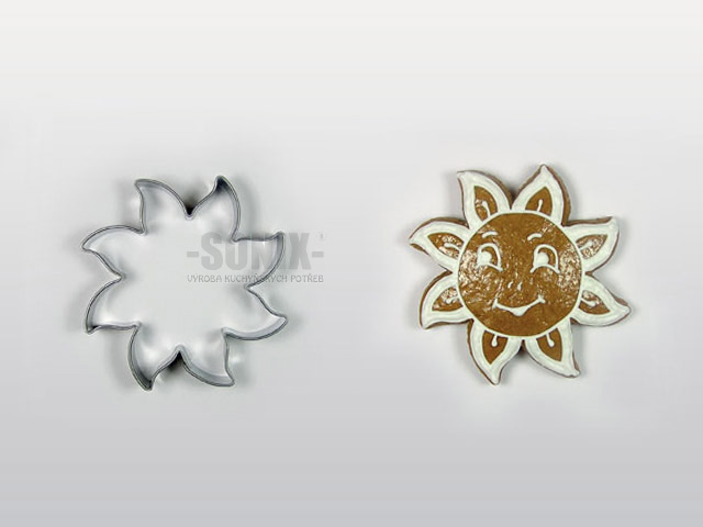 Sun No.3 (7cm) cookie cutter