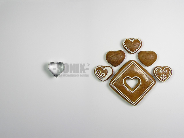 Little heart 1,9 cm cookie cutter
