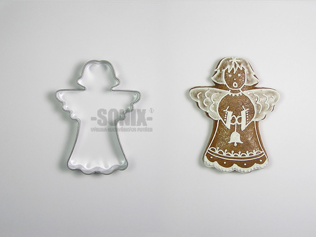 Angel II cookie cutter